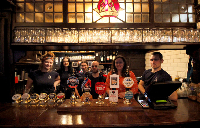 Ye Olde Mitre named SPBW London Pub of the Year 2019