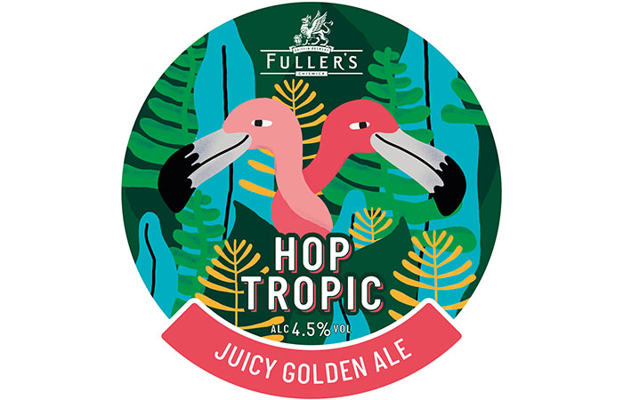 Beer Day Britain new summer beer Hop Tropic by Fuller's