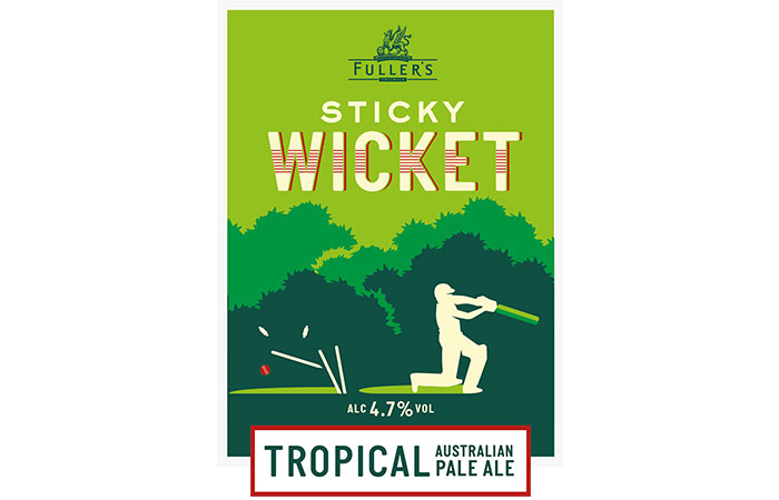 Beer Day Britain new beer by Fuller's Sticky Wicket pale ale