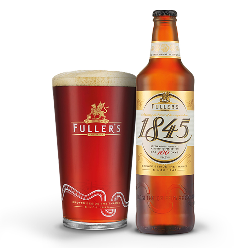 Fuller's 1845 named best bottled ale in Britain for 2018