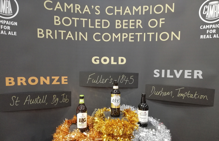Fuller's 1845 ale is crowned best bottled ale in Britain for 2018