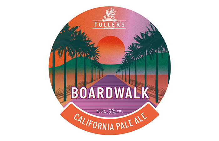 Boardwalk pale ale fullers