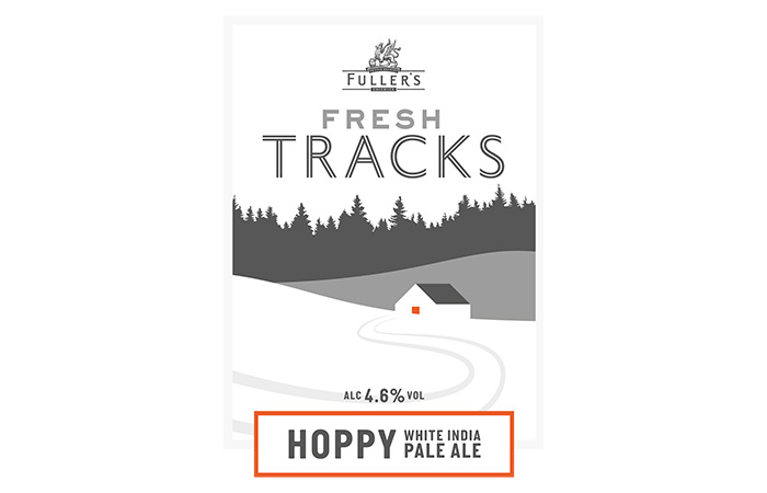 Fresh Tracks Fuller's beer