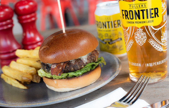 Best burgers in London: The Merchant, Canary Wharf London