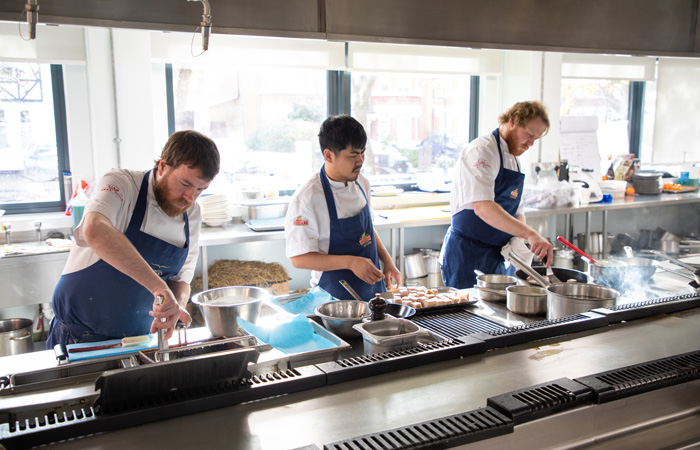 Fuller's Chefs' Guild Chef Scholarship Grand Prix Lunch cook-off 2019