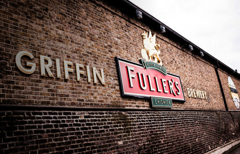 Chancellor Philip Hammond visits Fuller's brewery in Lodon