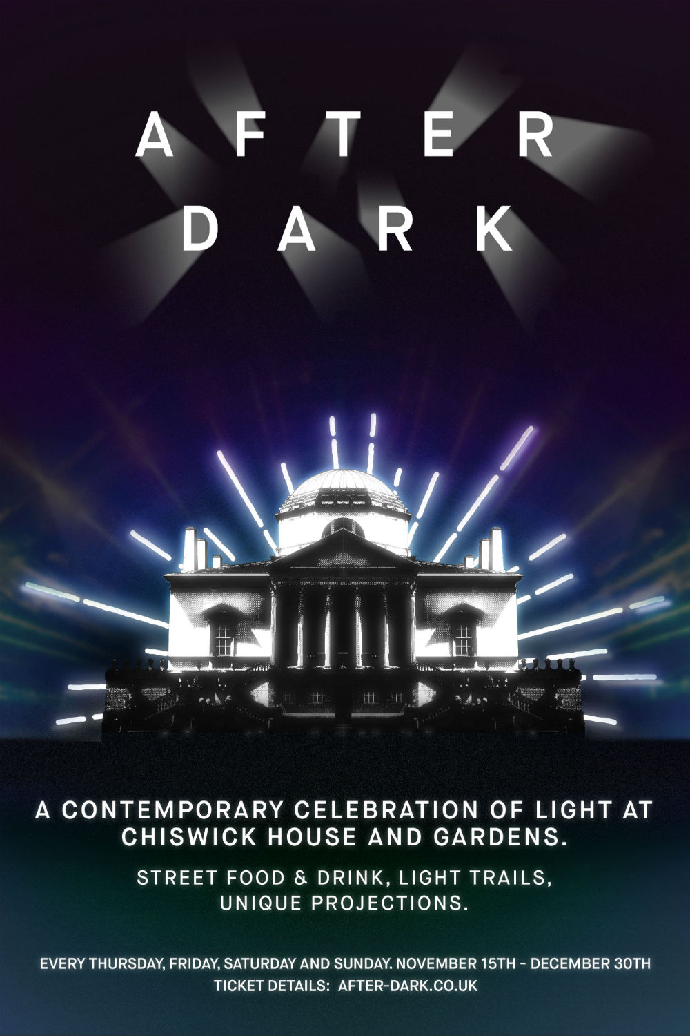 chiswick after dark poster 2018