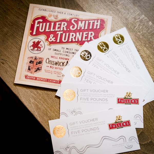 Pub voucher Christmas gifts for beer lovers