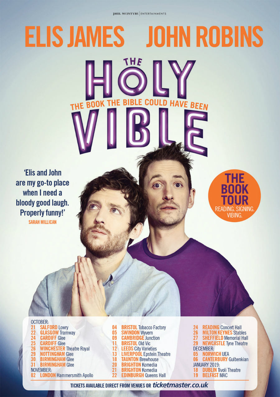 holy vible book and beer tour dates comedy