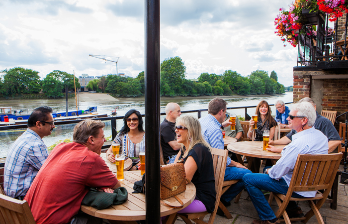 The Dove Hammersmith makes Evening Standard's top 50 pubs in London list
