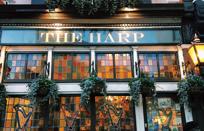 the harp covent garden