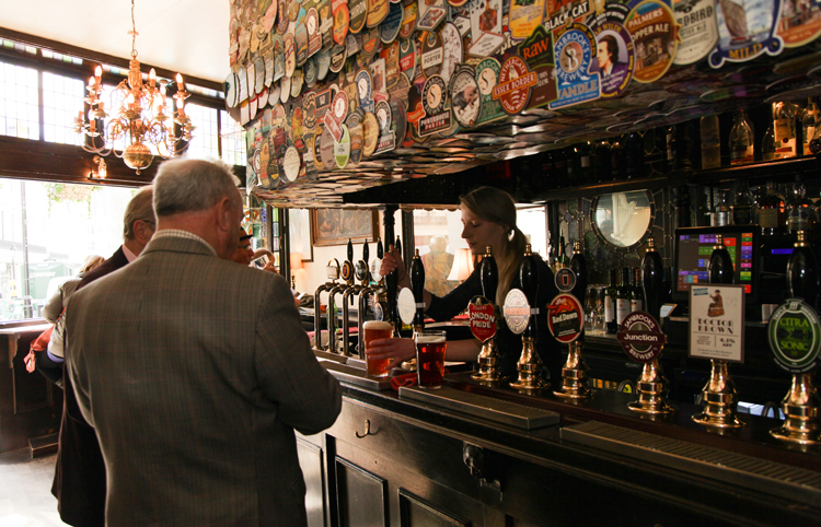 The Harp is number one in the Evening Standard's top 50 pubs in London list