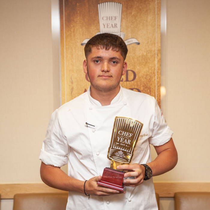 college chef of the year 2019
