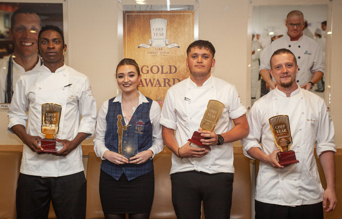 Winners Chef of the Year 2018