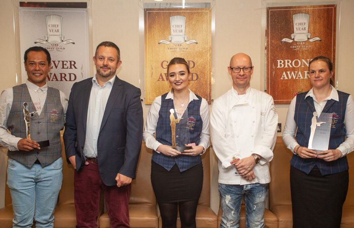 Fuller's Kitchen Chef of the Year winners 2019
