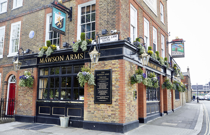 Where to get London's best fish and chips - The Mawson's Arms, Chiswick