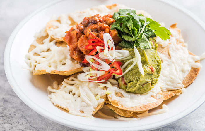 Vegan dishes to try for Veganuary - vegan nachos