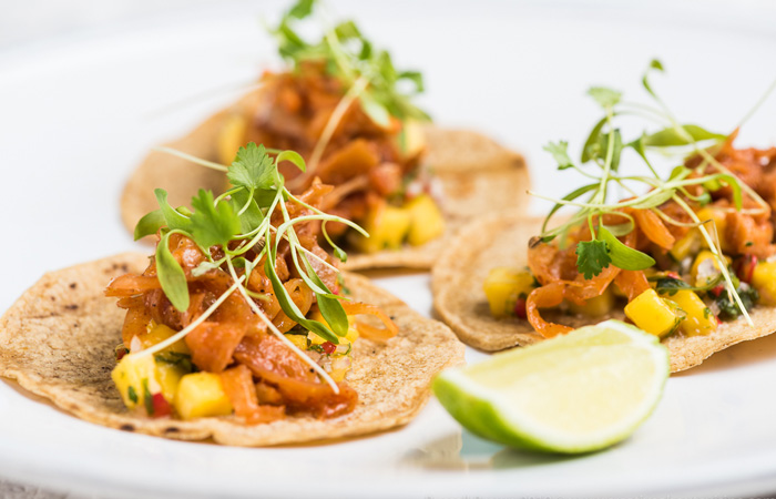 Vegan dishes to try for Veganuary - jack fruit tacos