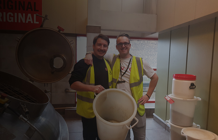 Tiny Rebel Fuller's and Friends collaboration brewing begins