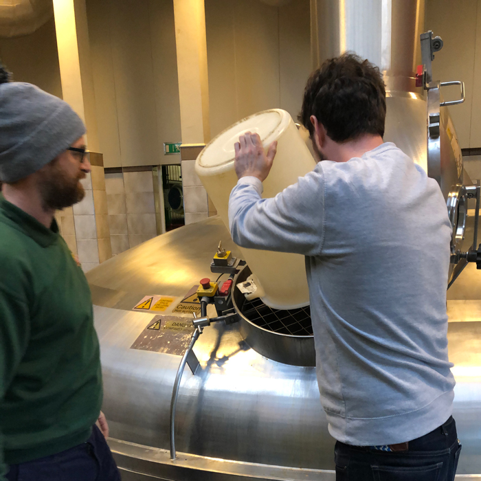 Pilot co-owner adds hops for fuller's and friends brew