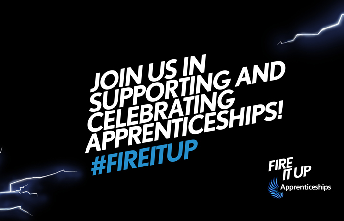 Fuller's Chef Apprentice Shey Soetan stars in National Government campaign fire it up Apprenticeships