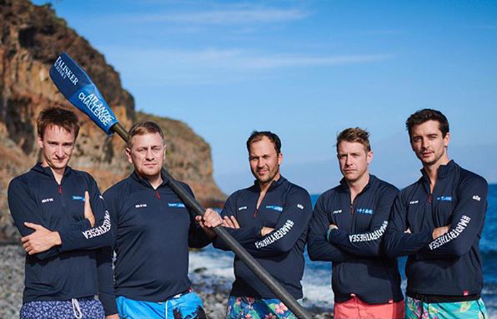 teams members Men of Oar talisker whisky Atlantic challenge