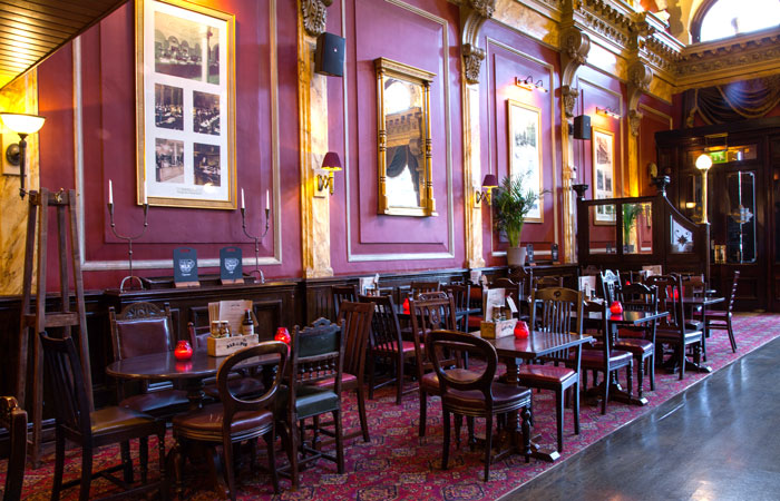 Dining area The Old Joint Stock Birmingham