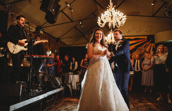 Stunning winter weddings at The George IV Chiswick, London