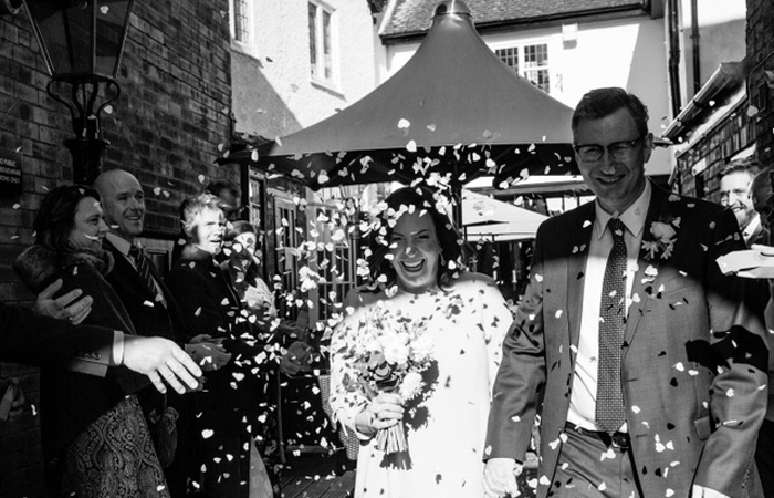 Winter weddings at The White Swan, Stratford-upon-Avon