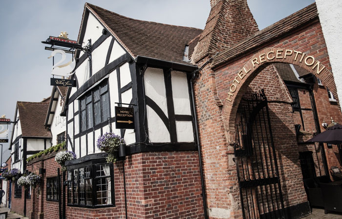 Best Winter wedding venue The White Swan Hotel, Stratford-upon-Avon
