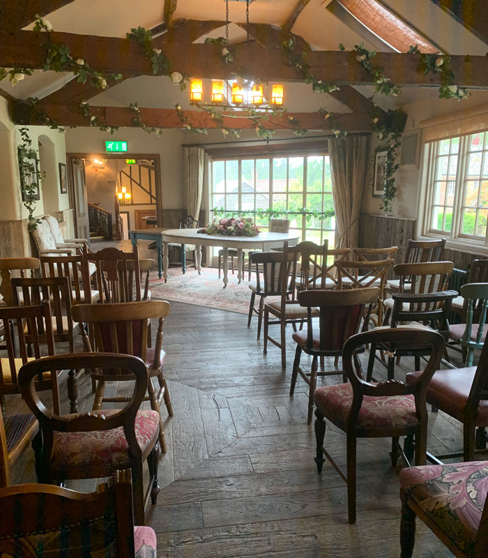 Rustic winter wedding venue Surrey - The Mill at Elstead