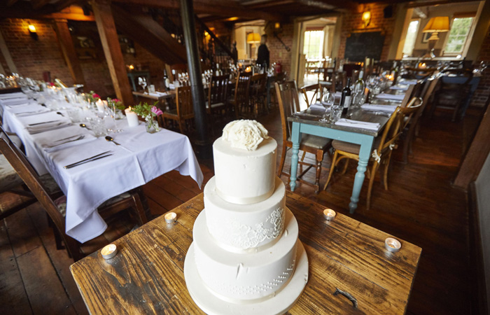 Winter weddings at The Mill at Elstead