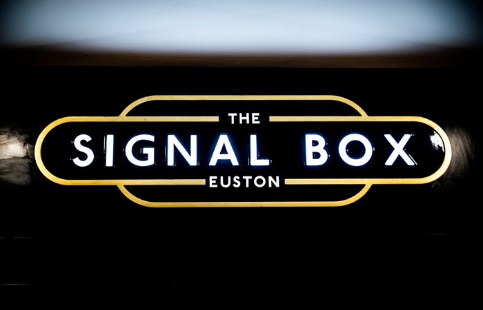 The Signal Box at Euston Station