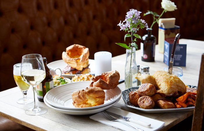 Best placest to get sharing roasts in London on Sundays