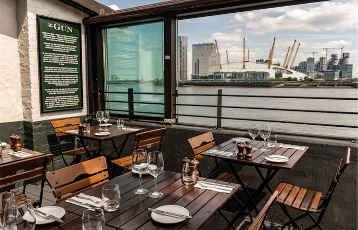 Best Sunday roasts in London at The Gun, Docklands