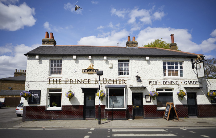 Best Sunday roasts in London at The Prince Blucher, Twickenham