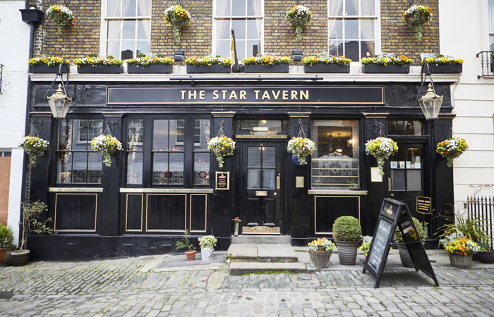 Best Sunday roasts in London at The Star Tavern, Belgravia