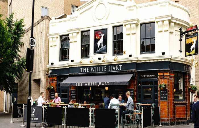 Best Sunday roasts in London at The White Hart, Southwark