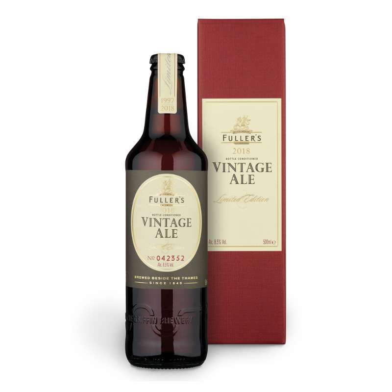 fullers vintage ale 2018 bottle