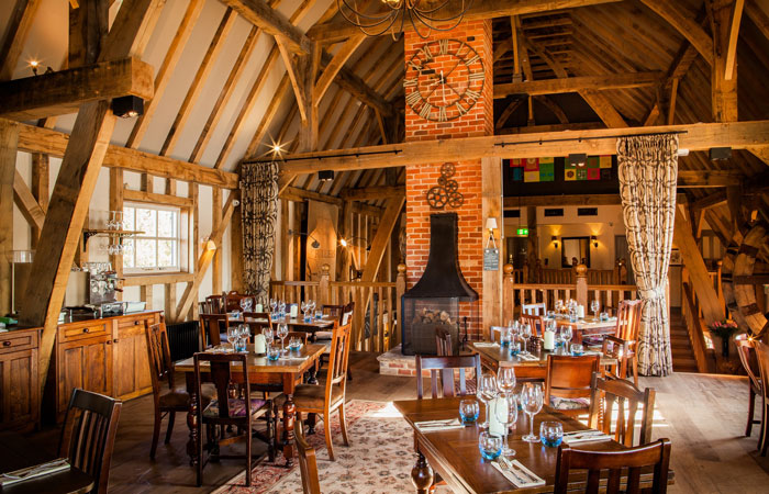 Hampshire's Best Country Pubs With Open Fires - Cams Mill Fareham
