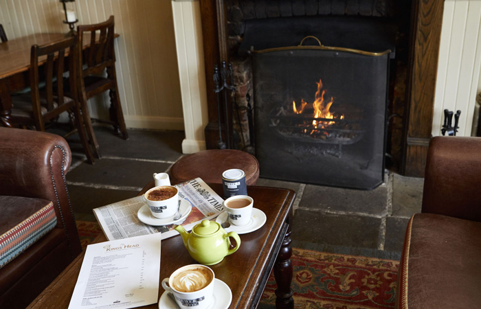 Best Hampshire pubs with fireplaces - The Kings Head Fareham