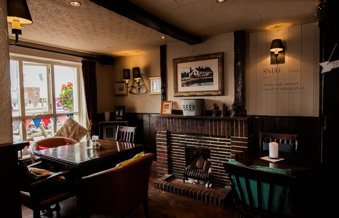 Hampshire's Best Country Pubs With Open Fires - The Ship Inn, Langstone