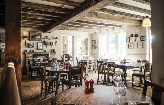 Hampshire's Best Country Pubs With Open Fires - The White Buck, Burley