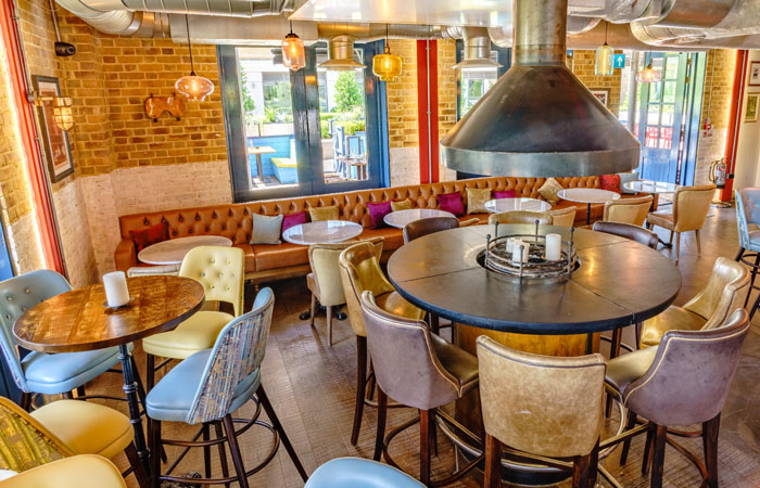 The best pubs with fireplaces in London - One Over the Ait, Kew