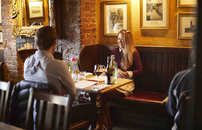 Best London pubs with open fires - The Dove, Hammersmith