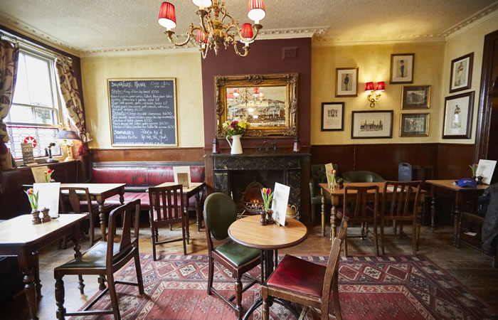 The best pubs with fireplaces in London - The Star Tavern, Belgravia