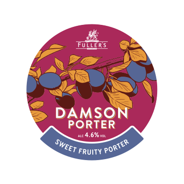 Damson porter badge