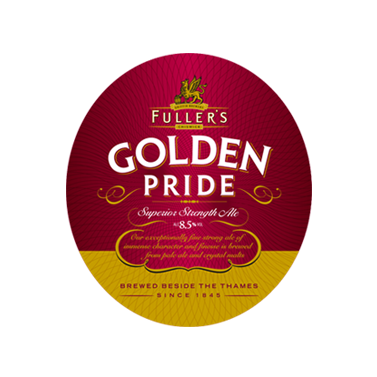 Golden Pride pump clip