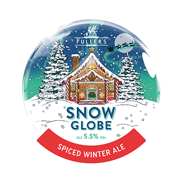 Snow Globe badge