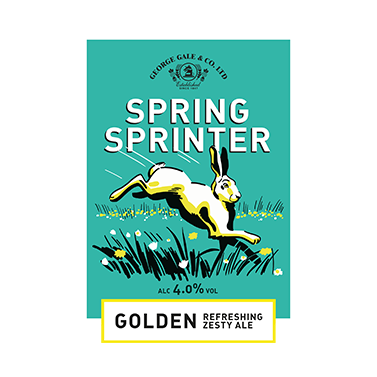 Spring Sprinter beer badge